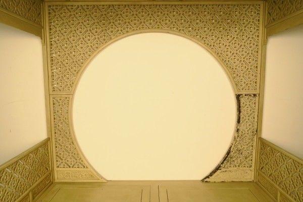Original chinesisches Himmelbett mit schönen Schnitzereien Antik Kolosseum 8