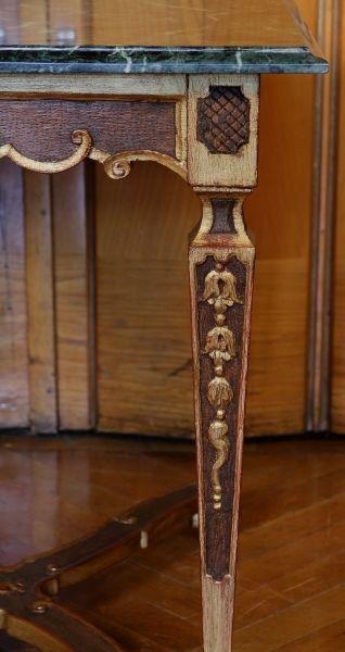 Höfischer Barock Salon- Tisch aus Frankreich gefertigt um 1780 Antik Kolosseum 3