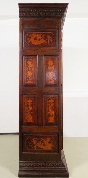 Original Barock Kleiderschrank mit wunderschönen Intarsien Antik Kolosseum 2