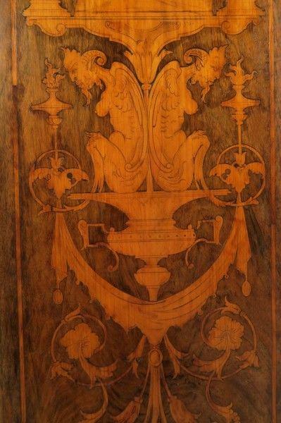 Original Barock Kleiderschrank mit wunderschönen Intarsien Antik Kolosseum 7