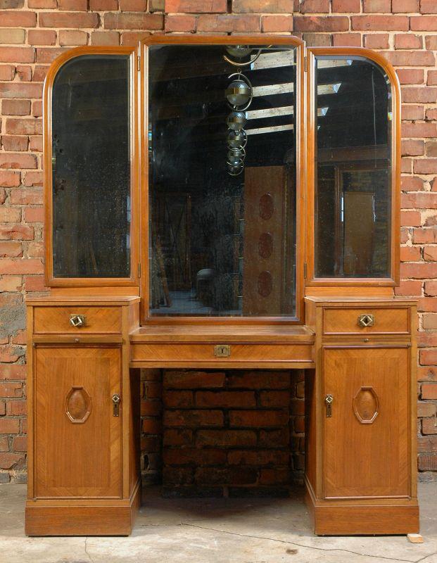 2 teiliges gr nderzeit nussbaum schlafzimmer von j groschkus antik kolosseum nr 272909658772. Black Bedroom Furniture Sets. Home Design Ideas