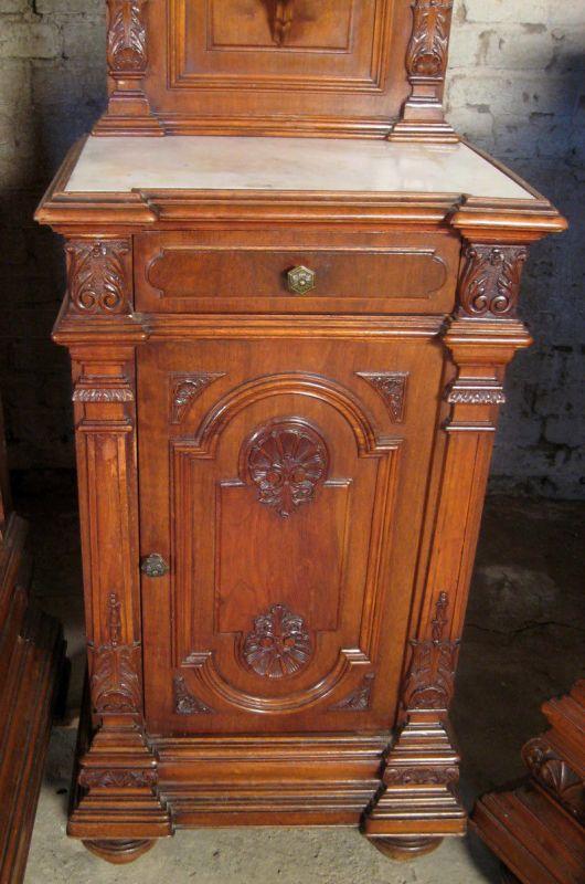 Schlafzimmer Grunderzeit #19: Sensationelles Figürliches 7- Teiliges Gründerzeit Schlafzimmer Antik  Kolosseum 9