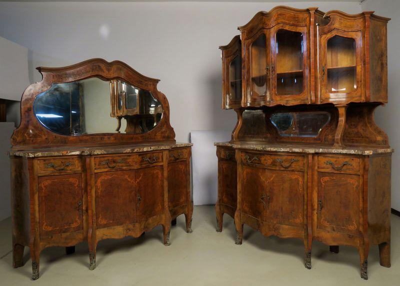 elegante neobarock schreibtisch mit auszugsplatte antik kolosseum nr 273091084785 oldthing. Black Bedroom Furniture Sets. Home Design Ideas