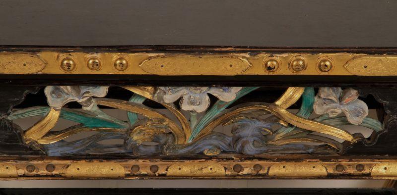 Vergoldete chinesische Konsole gefertigt um 1880 Antik Kolosseum 9