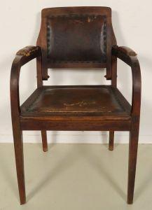 Seltener original Jugendstil Frisör- und Behandlungsstuhl Antik Kolosseum