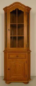 Eckschrank gefertigt in den 60er Jahren aus Eiche Antik Kolosseum