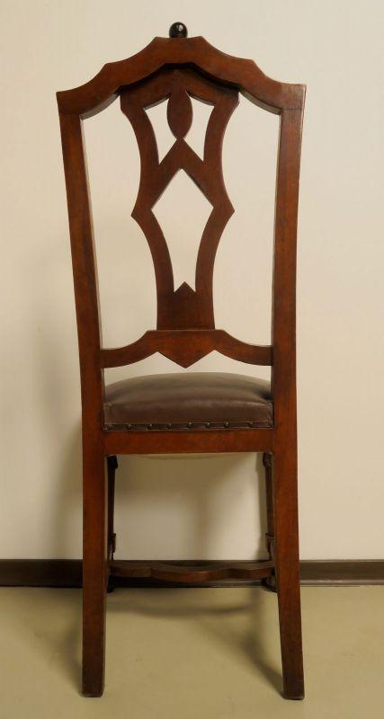 Faszinierende siebenteilige Art Deco Sitzgruppe aus Mahagoni Antik Kolosseum 11
