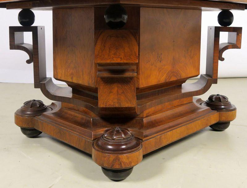 Faszinierende siebenteilige Art Deco Sitzgruppe aus Mahagoni Antik Kolosseum 2