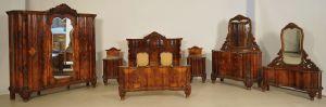 Französisches achtteiliges Schlafzimmer im Neobarock Stil Antik Kolosseum