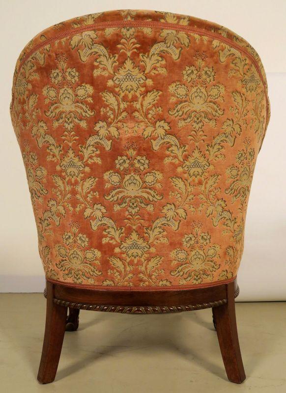 Neorenaissonce Sitzgruppe mit Sofa und zwei Sesseln Antik Kolosseum 11