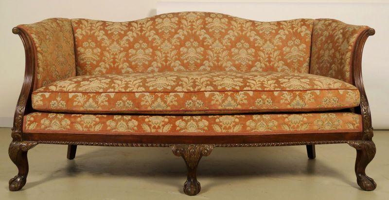Neorenaissonce Sitzgruppe mit Sofa und zwei Sesseln Antik Kolosseum 2