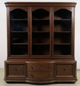 Dreitüriger Eiche Bücherschrank gefertigt um 1910 Antik Kolosseum