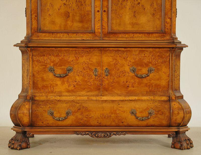 Schöner Neorenaissance Kabinettschrank mit runder Krone Antik Kolosseum 4