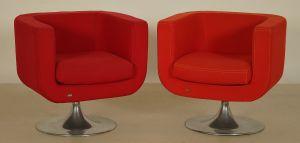 Zwei Designer Sessel der Firma Bretz aus den 70iger Jahren Anti Kolosseum