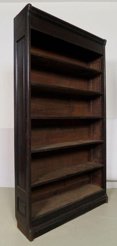 Jugendstil Bücherwand / Bibliothekschrank zwei Vitrinen/ein RegalAntik Kolosseum 7