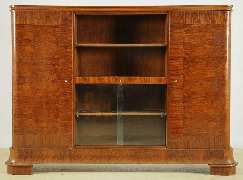 Eleganter Art Deco Bücherschrank aus Frankreich Antik Kolosseum