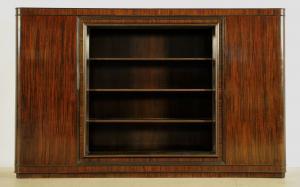 Wunderschöner originaler Bauhaus Bücherschrank aus Makassar Antik Kolosseum