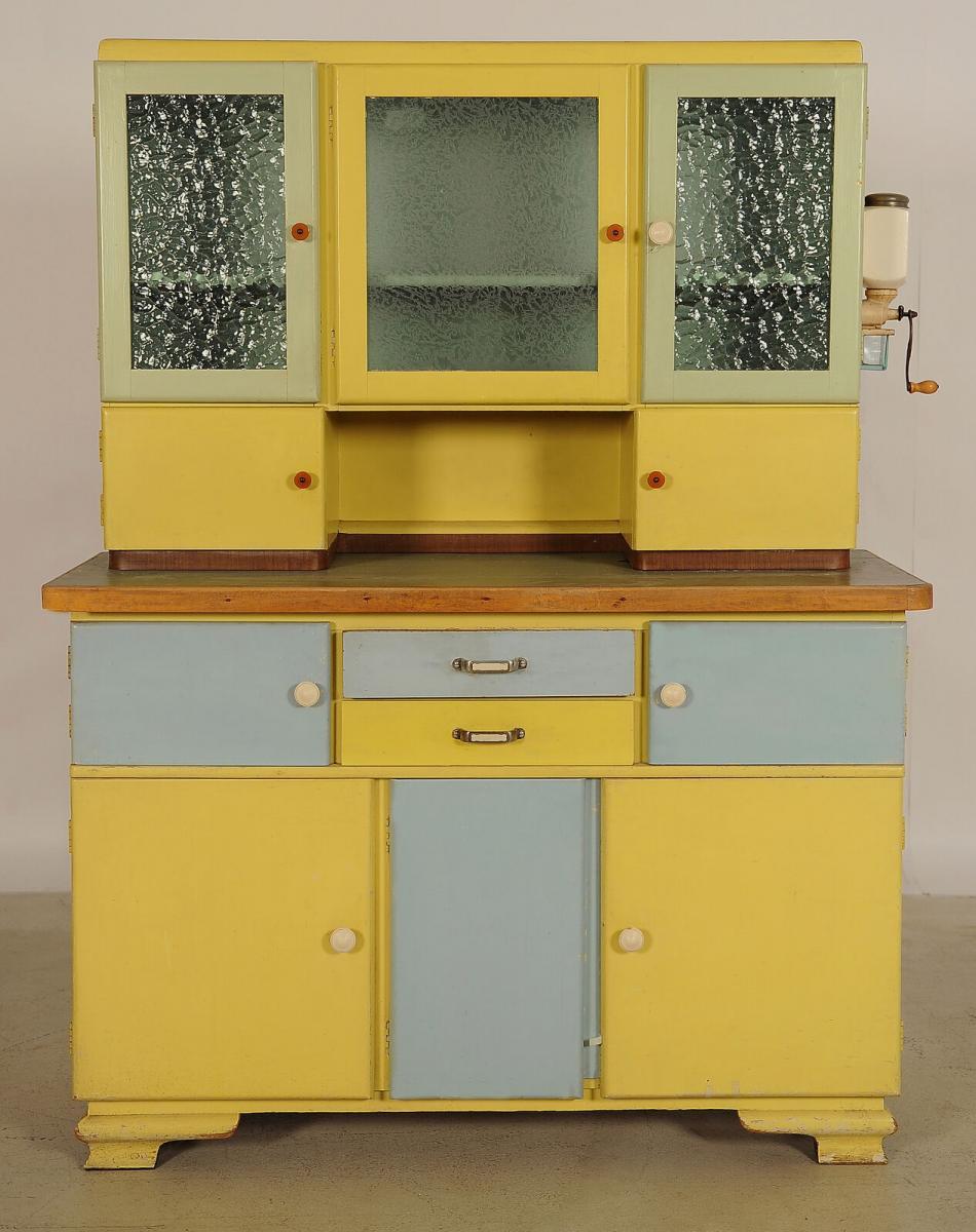 Einzigartiges Küchenbuffet aus den 30er Jahren Antik Kolosseum 0
