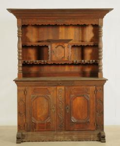 Rustikaler Kannenstock Schrank aus Eiche gefertigt um 1900 Antik Kolosseum