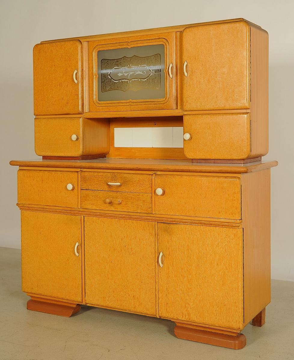 Interessantes Art Deco Küchenbuffet aus den 30iger Jahren Antik Kolosseum 1