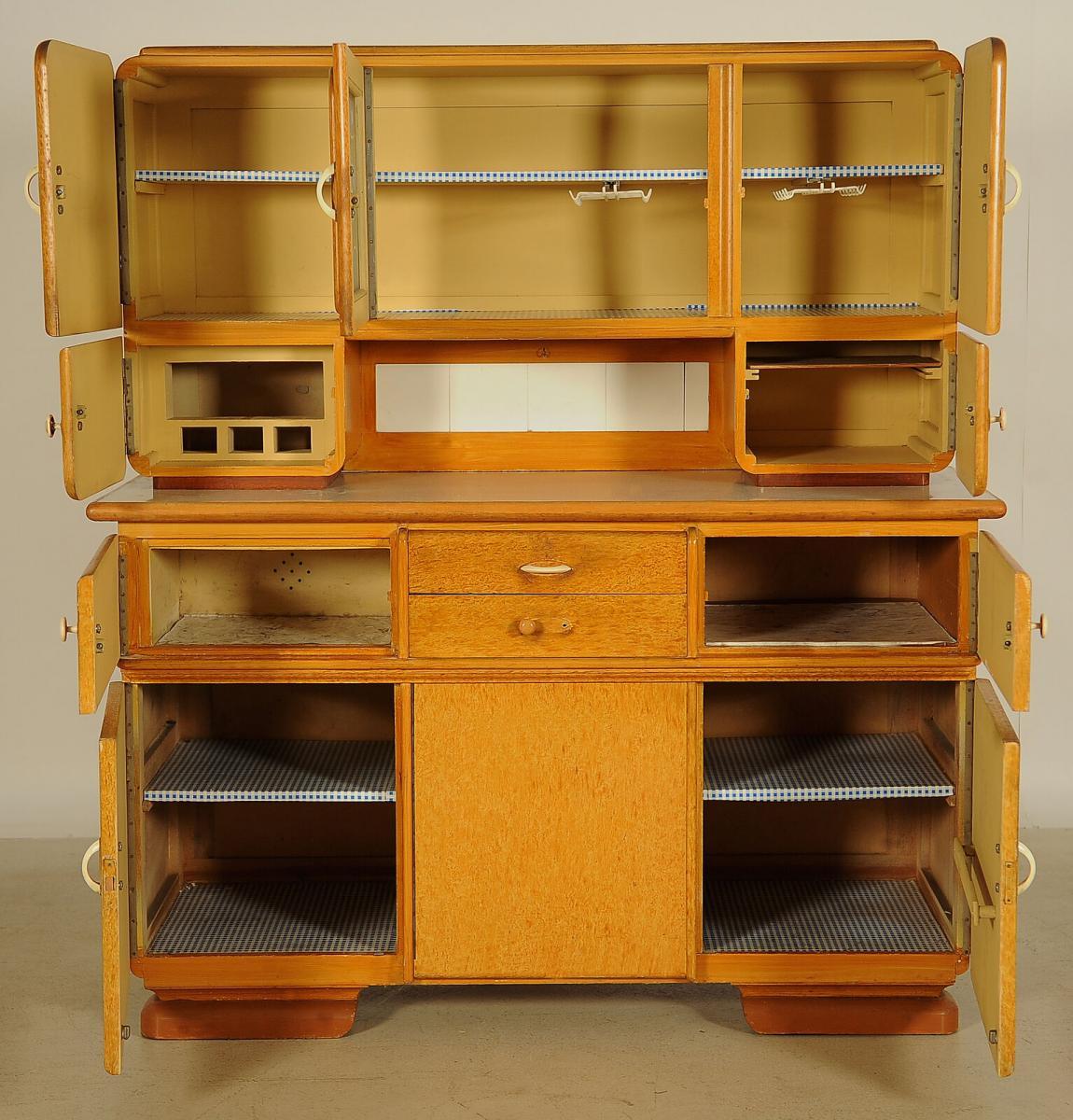 Interessantes Art Deco Küchenbuffet aus den 30iger Jahren Antik Kolosseum 2
