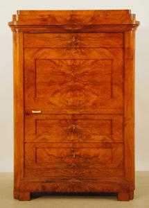 Eleganter Biedermeier Blender / Kleiderschrank um 1830/40 Antik Kolosseum