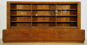 Monumentaler original Bauhaus Bücherschrank gefertigt um 1920 Antik Kolosseum