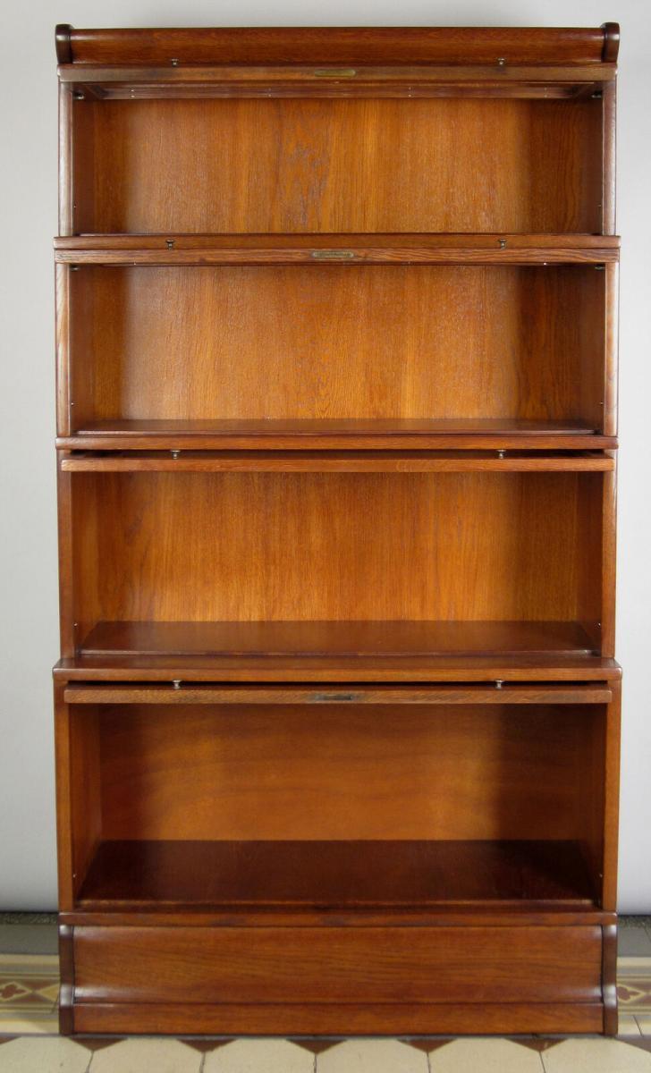 Praktischer Restaurierter Eiche Bucherschrank Gefertigt Um 1910 Antik Kolosseum Nr 274200194012 Oldthing Bucherschranke