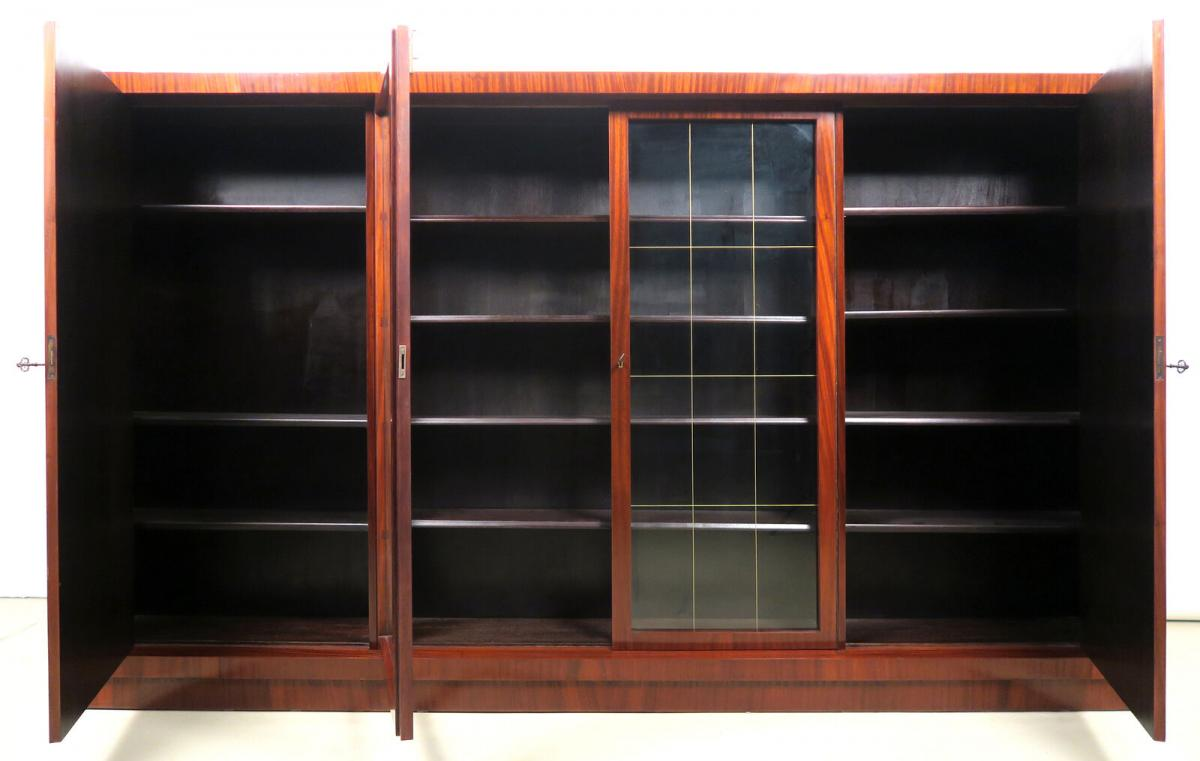 Vierturiger Bauhaus Bucherschrank Aus Makassar Gefertigt Antik Kolosseum Nr 274287862447 Oldthing Bucherschranke