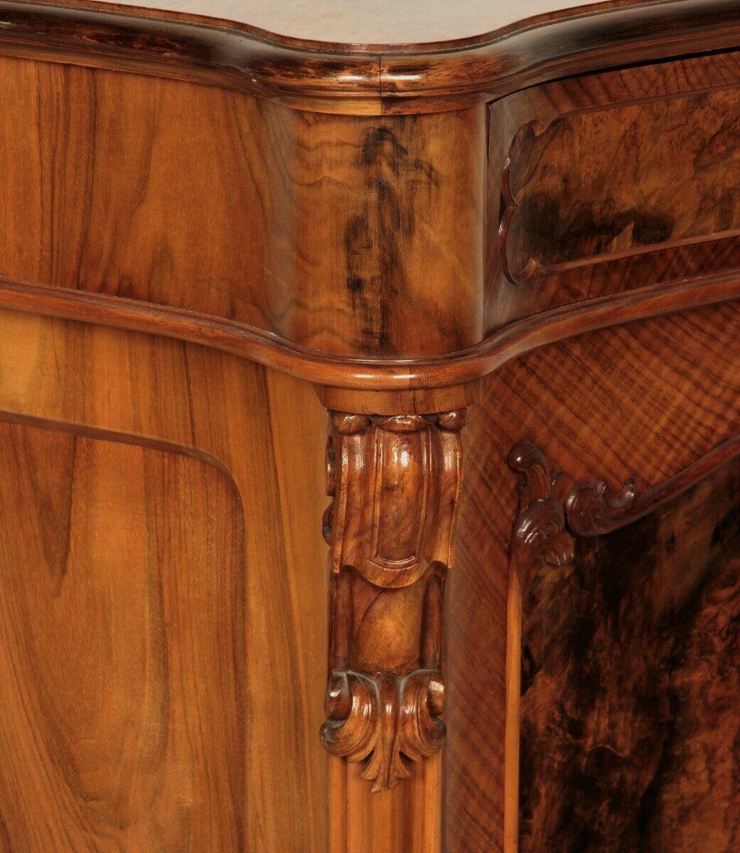 Repräsentatives Louis Philippe Vertiko mit schönen Beschlägen Antik Kolosseum 3