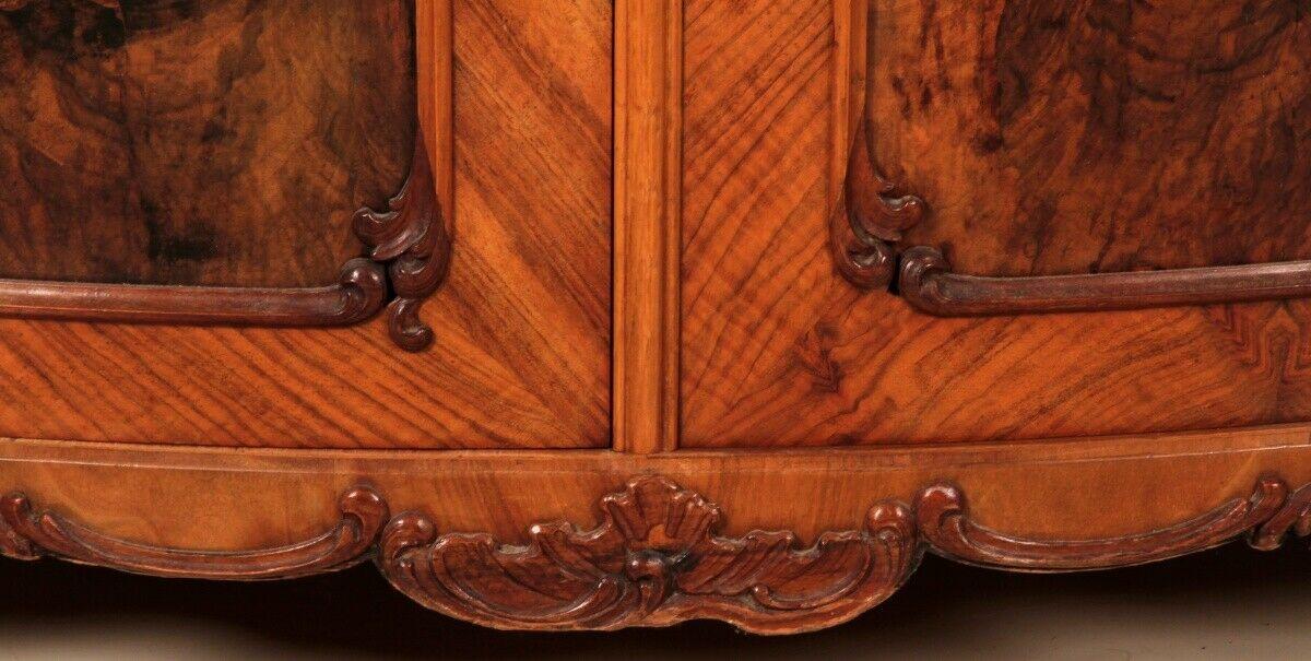 Repräsentatives Louis Philippe Vertiko mit schönen Beschlägen Antik Kolosseum 4