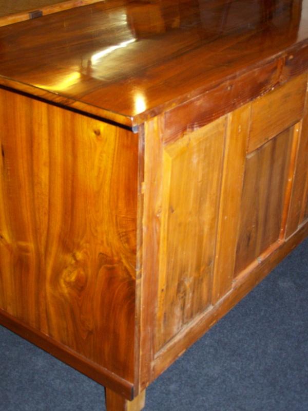 Biedermeier II. Zeit Schreibtisch aus  Nußbaum um 1900 2