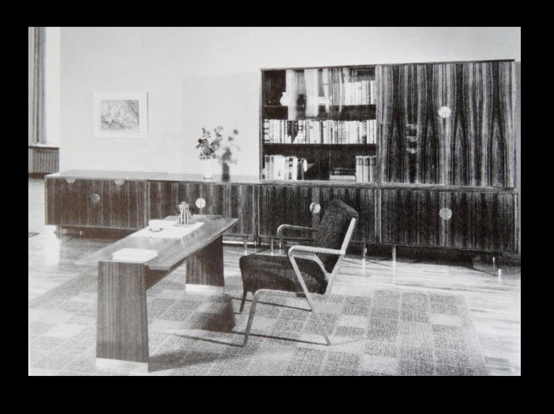 60er J. Hellerau Selman Selmanagic Hellerauer Werkstätten Sessel Armlehnstuhl 4