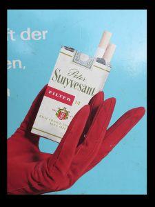 Stuyvsant Zigaretten Werbung Drehkalender, Ewiger Kalender, Dauerkalender BRD 3
