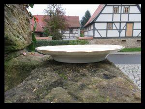 Goldene Hochzeit Glückwunsch Porzellan Teller / Dem Brautpaar / um 1900 TOP RAR 2