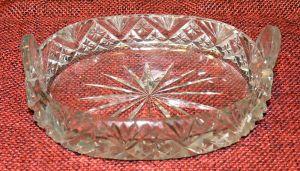 ovales Kristallschälchen (ca. 1890)
