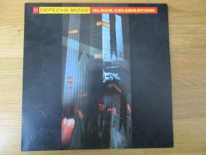 LP Depeche Mode: Black Celebration (Mute INT 146.818) D 1986 Grey Vinyl