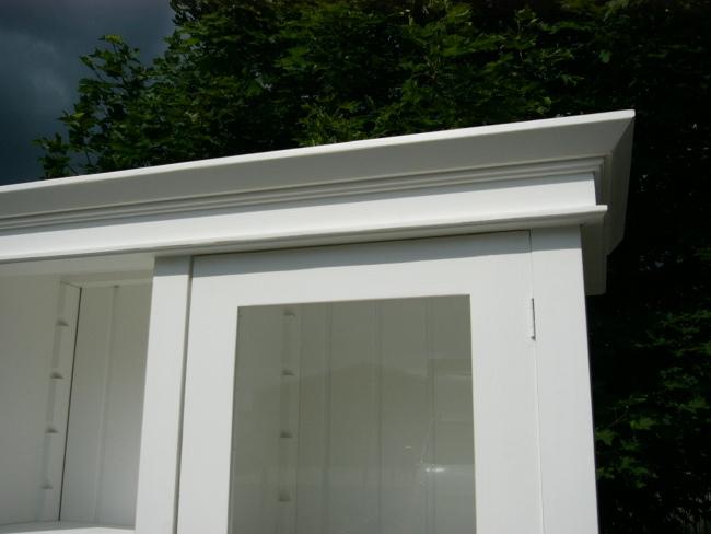 Vitrine Verkaufsvitrine Glas Schrank Sammlervitrine Landhaus 7