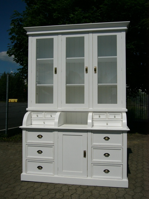 vitrine verkaufswand verkaufsvitrine landhaus shabby style nr 400934450971 oldthing diverse. Black Bedroom Furniture Sets. Home Design Ideas