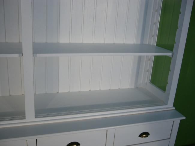 regal ladenregal im shabby look landhaus vintage nr. Black Bedroom Furniture Sets. Home Design Ideas