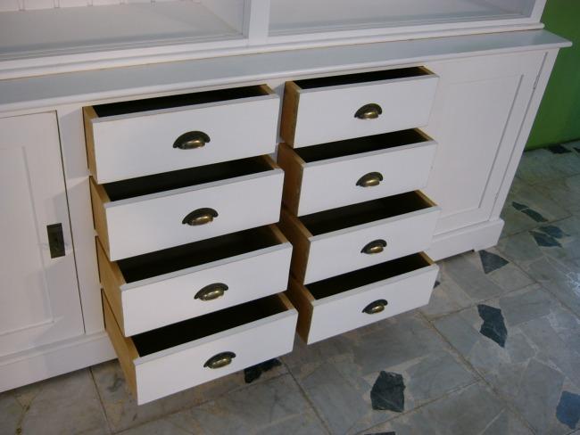 regal ladenregal im shabby look b cherregal wei nr 191549440002 oldthing komplette. Black Bedroom Furniture Sets. Home Design Ideas