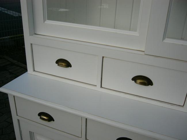 regal b cherregal im landhaus stil ladenregal tante emma. Black Bedroom Furniture Sets. Home Design Ideas