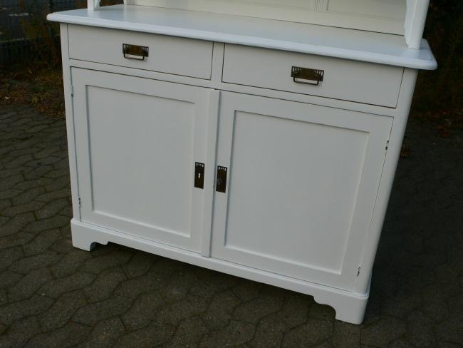 buffet jugendstil antik k chenschrank wei landhaus stil um 1900 nr 401194204946 oldthing. Black Bedroom Furniture Sets. Home Design Ideas