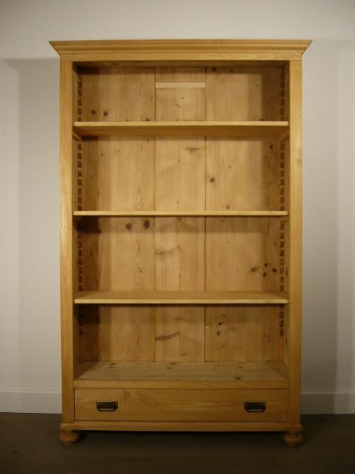 regal b cherregal antik jugendstil weichholz um 1900 jhd. Black Bedroom Furniture Sets. Home Design Ideas
