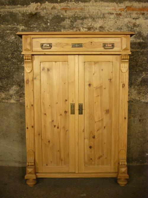 vertiko weichholz antik gr nderzeit restauriert um 1900. Black Bedroom Furniture Sets. Home Design Ideas