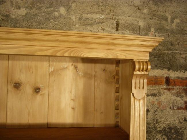 regal antik b cherregal gr nderzeit bibliothek weichholz. Black Bedroom Furniture Sets. Home Design Ideas