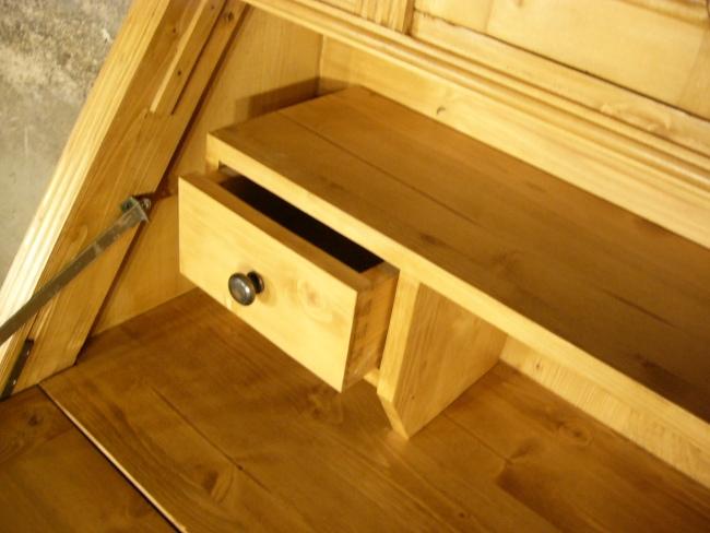 sekret r schreibtisch weichholz schrank kommode sehr. Black Bedroom Furniture Sets. Home Design Ideas