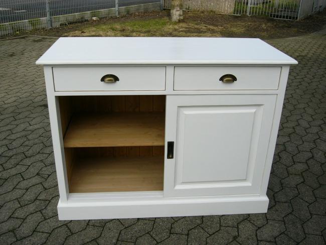 kommode anrichte sideboard landhaus schiebet ren nr 192096236970 oldthing diverse kommoden. Black Bedroom Furniture Sets. Home Design Ideas