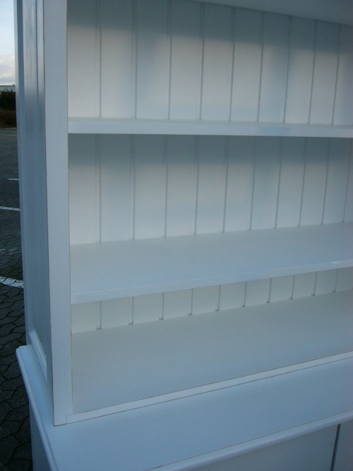bibliothek b cherwand shabby look mit leiter wei nr 401272221376 oldthing b cherschr nke. Black Bedroom Furniture Sets. Home Design Ideas