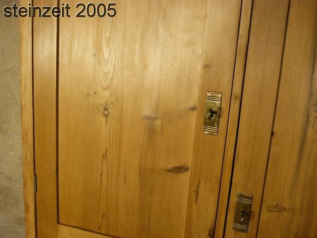Schrank Weichholz Jugendstil antik vielseitig sehr praktisch  um 1900 Jhd. 2